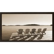 ByronAnthonyHome Peace by the Water Framed Photographic Print