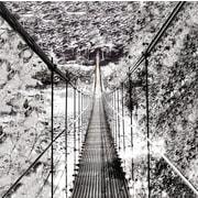 ByronAnthonyHome Bridge of Wonder Photographic Print on Canvas