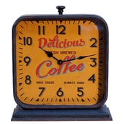 ByronAnthonyHome Fresh Coffee Mantel Clock