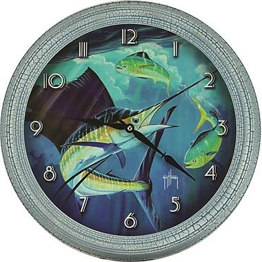 River's Edge Products Guy Harvey Sailfish Clock