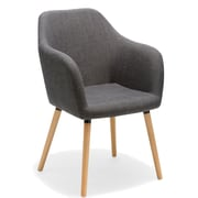 Porthos Home Estate Arm Chair; Gray