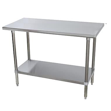 Advance Tabco Prep Table; 35.5'' H x 36'' W x 36'' D