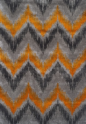 Dalyn Rug Co. Rossini Dalyn Tangerine Area Rug; 5'3'' X 7'7''