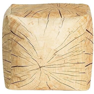 SittingPoint Tree Cube Pouf Ottoman
