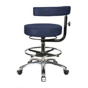 Perch Chairs & Stools Height Adjustable Dental Stool w/ Procedure Arm; Imperial Fabric
