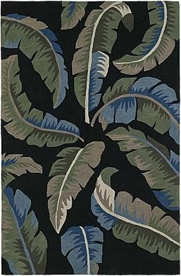 Dalyn Rug Co. Maui Hand-Tufted Black Area Rug; Rectangle 5' x 7'6''