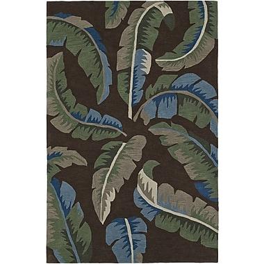 Dalyn Rug Co. Maui Hand-Tufted Chocolate Area Rug; Rectangle 3'6'' x 5'6''