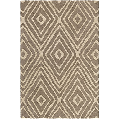 Artistic Weavers Congo Ella Hand-Tufted Taupe/Beige Area Rug; 3' x 5'