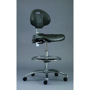 BEVCO Everlast Drafting Chair; Black