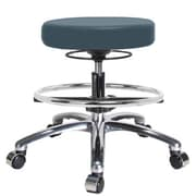 Perch Chairs & Stools Height Adjustable Massage Therapy Swivel Stool w/ Foot Ring
