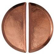 Sertodo Copper Aleppo Half Moon Platter (Set of 2)