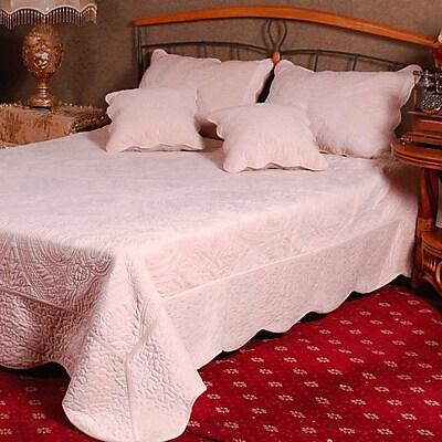 Tache Home Fashion Tache Reversible Quilt Set; Full