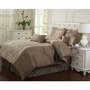 Nanshing America, Inc Montage 7 Piece Comforter Set; California King