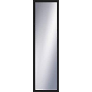 PTM Images Wayfare Wall Mirror; Black