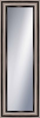 PTM Images Wayfare Wall Mirror; Champagne