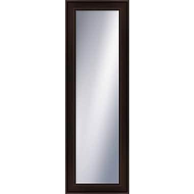PTM Images Wayfare Wall Mirror; Espresso