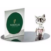 MatashiCrystal Cartoon Cat Picture Frame