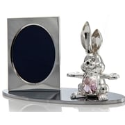 MatashiCrystal Cartoon Bunny Picture Frame