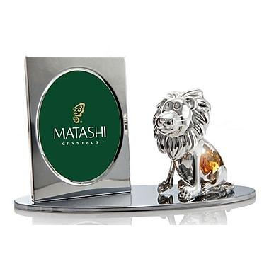 MatashiCrystal Cartoon Lion Picture Frame