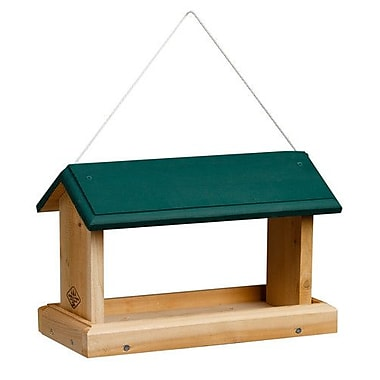 1000WestInc Open-Air Hopper Bird Feeder