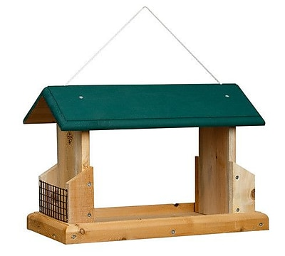 1000WestInc Deluxe Open-Air Suet Bird Feeder (WYF078278907639) photo