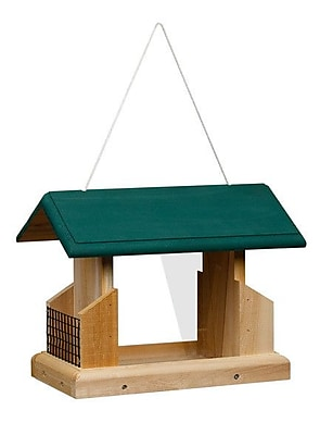 1000WestInc Deluxe Suet Bird Feeder (WYF078278907641) photo