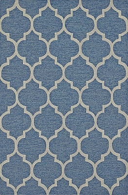 Dalyn Rug Co. Cabana Hand-Tufted Sky Indoor/Outdoor Area Rug; Rectangle 9' x 13'