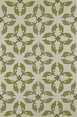 Dalyn Rug Co. Cabana Hand-Tufted Lime Indoor/Outdoor Area Rug; Rectangle 9' x 13'