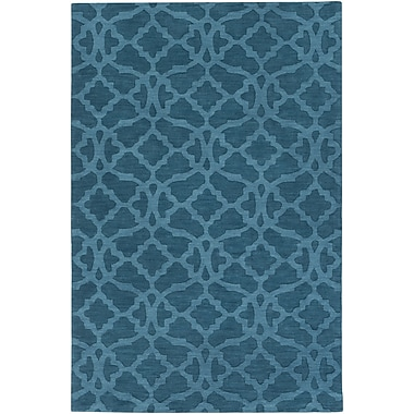 Artistic Weavers Metro Kristen Hand-Woven Electric Blue Area Rug; 2' x 3'