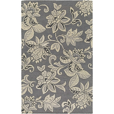 Artistic Weavers Rhodes Elsie Hand-Tufted Gray/Off-White Area Rug; Runner 2' x 8'