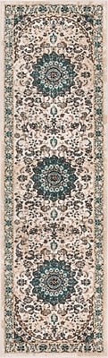 Well Woven Luxury Vintage Look Beige Area Rug; Runner 2'3'' x 7'7''
