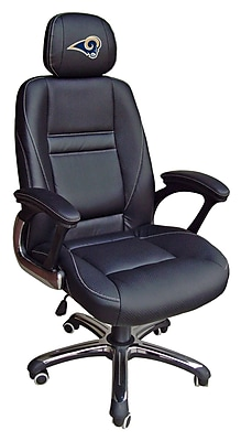 Tailgate Toss NFL Leather Desk Chair; St. Louis Rams