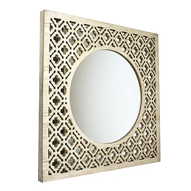 Sagebrook Home Wood Frame Mirror