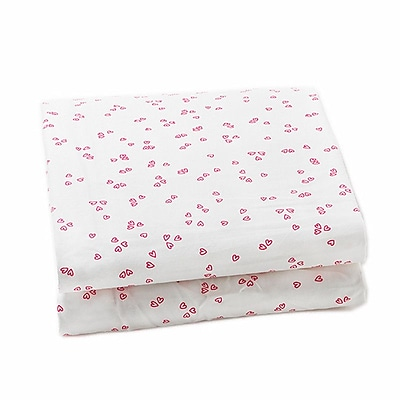 Auggie Pretty 200 Thread Count 100pct Cotton Fitted Sheet