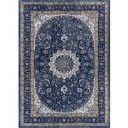 Well Woven Luxury Blue Area Rug; 5'3'' x 7'3''