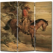 WGI GALLERY 68'' x 68'' Long Road Home 3 Panel Room Divider