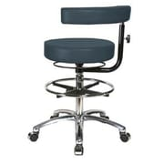 Perch Chairs & Stools Height Adjustable Dental Stool w/ Procedure Arm and Foot Ring
