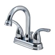 OakbrookCollection Standard Bathroom Faucet Double Handle