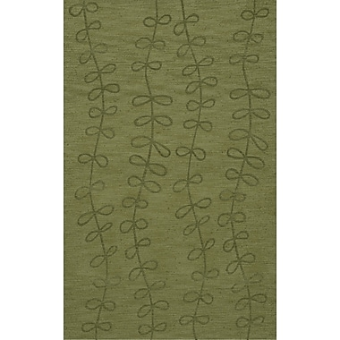 Dalyn Rug Co. Bella Green Area Rug; 4' x 6'