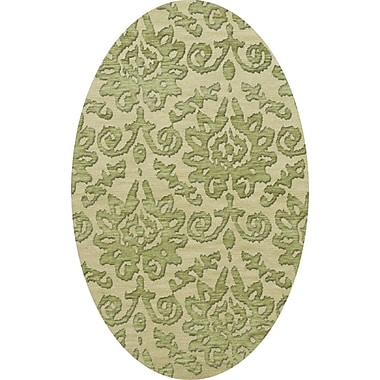 Dalyn Rug Co. Bella Green Area Rug; Oval 10' x 14'