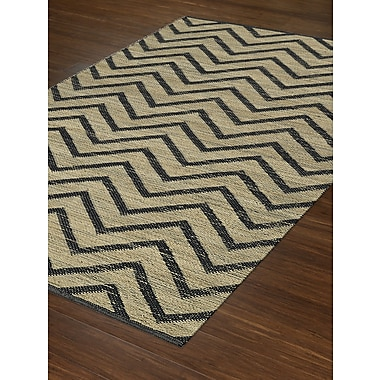 Dalyn Rug Co. Santiago Dalyn Black Area Rug; Rectangle 8' x 10'