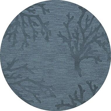 Dalyn Rug Co. Bella Blue Area Rug; Round 4'