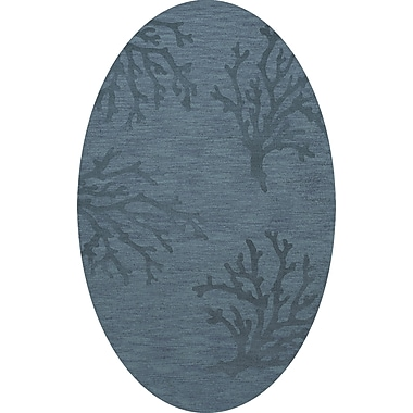 Dalyn Rug Co. Bella Blue Area Rug; Oval 9' x 12'