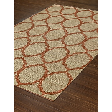 Dalyn Rug Co. Santiago Dalyn Orange Area Rug; Rectangle 8' x 10'