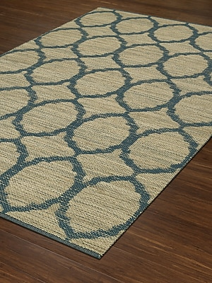 Dalyn Rug Co. Santiago Dalyn Teal Area Rug; Rectangle 5' x 7'6''