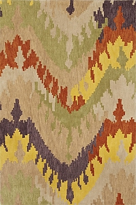 Dalyn Rug Co. Impulse Wool/Silk Ivory/Yellow Area Rug; 8' x 10'
