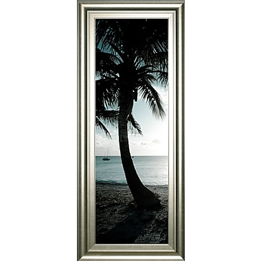 ClassyArtWholesalers 'Cool Bimini Palms II' by Susan Bryant Framed Photographic Print