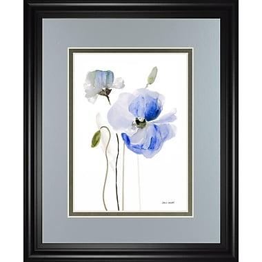 ClassyArtWholesalers 'All Poppies I' by Lanie Loreth Framed Painting Print