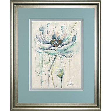 ClassyArtWholesalers 'Fresh Poppies II' by Patricia Pinto Framed Painting Print