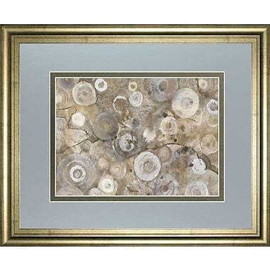 ClassyArtWholesalers 'Natural Agate' by Albena Hristova Framed Painting Print